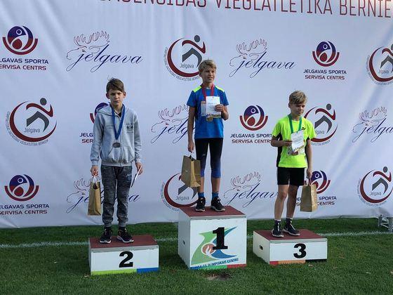 Piektdien, 25.septembrī (2020) Daniels Hildebrants un Anna Guļaško piedalījās starptautiskās vieglatlētikas sacensībás Jelgavā.  Danielam 2.vieta 1000 metru distancē un 5.vieta bumbiņas mešanā!